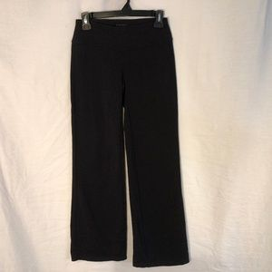 Athleta Small Yoga Pants Black Stretchy 1308